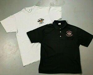 VINTAGE 1990's Dick Farmer's Orlando, FL Harley Davidson Shirt Lot of (2) Sz Med