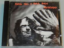 Rosendo - Para Mal o para Bien - '94 ORG 1st Press cd Spanish Rock