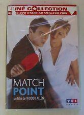 DVD MATCH POINT - Scarlett JOHANSSON / Brian COX - Woody ALLEN - NEUF
