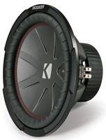 "KICKER 43CWR124 12"" 30cm 1000 Watts Dual Voice Coil Car Van Boot Sub Subwoofer"
