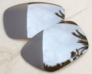 Genuine Oakley Tincan Titanium Iridium Polarized Sunglass Lens Set Bronze - 4082