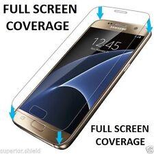 100% Genuine Tempered Vetro LCD Salvaschermo Film per Samsung Galaxy S7