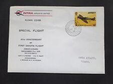 Intra Airways 40th Anniv First Dakota Flight Jersey -Dinard 17/12/1975