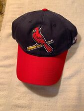 St Louis Cardinal Cap Official MLB Apparel Embroidered High Relief Logo New