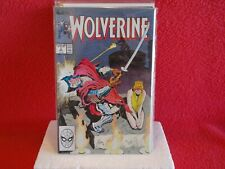 "MARVEL COMICS FROM 1989, LOT OF FOUR COUNT (4) ""WOLVERINE"" ISSUES, 3-4-5-6 NICE"