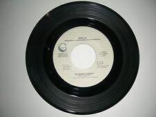 Madonna - Crazy For You // Berlin - No More Words  45   Geffen Records NM 1985