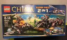 Huge SET LEGO Chima 66474 COMBO 2 in 1 RARE NEW SEALED - 9 Minifigs/1067 Pieces