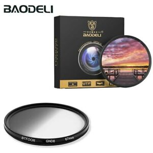BAODELI Gray Gradient Graduated Neutral Density GND8 Filter GND 0.9 (3 stops)