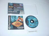 MIKE TYSON BOXING game complete in case w/ manual for Sony Playstation or PS2
