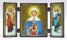 Ikone heilige Lidija geweiht икона святая Лидия освящена 12,8 x7,3x0,5 cm