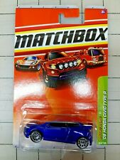 2010 Matchbox Honda Civic Type R Blue Metro Rides #29 VHTF