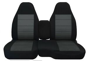 Front set car seat covers fits  CHEVY COLORADO 2004-2012  60/40 HIGHBACK