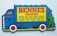 BD TL  - Bennes Dessinees / EO 1986 / CHALAND & JANO & FLOC'H & LOUSTAL / CARTON