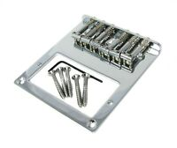 Telecaster-type Chrome Electric Guitar Humbucker Bridge Plate-Bottom Load
