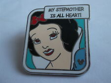Disney's Snow White My Stepmother Is All Heart! Pin  Badge Hidden Mickey 3 Of 6