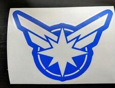 The Avengers Superhero Captain Marvel Logo for Car, Home, Yeti, Electronics