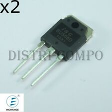 BU508D Transistor NPN 700V 5A TO-220 Inchange (lot de 2)
