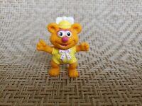 Vintage Muppet Babies Fozzie Bear Figure PVC 1986 Mcdonalds Toy