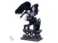 RAVEN 19cm Gothic Dark Fallen Angel Figurine Gargoyle Nemesis Now BNIB FREE P+P