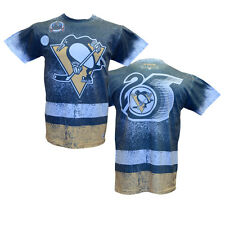 NHL Mitchell & Ness Sublimated T-Shirt (M, Pittsburgh Penguins)