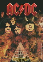AC/DC FLAGGE FAHNE HIGHWAY TO HELL POSTERFLAGGE STOFF POSTER FLAG