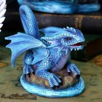 Anne Stokes Small Water Dragon Figurine Statue Sculpture Ornament
