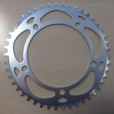 NEW 46T BCD: 130 Chainring Chain Ring Track Fixie Road Single Speed Bike Silver
