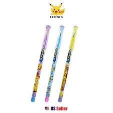 Nintendo Pokemon 0.5mm Stacking Lead Pencil with Jewel Set of 3pcs