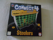 STEELERS CONNECT 4 GAME (Four) -HASBRO-COMPLETE-PITTSBURGH STEELERS