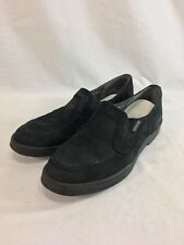 5e8f497af44 Mephisto Shoes Loafers Womens 8.5 Black Suede Leather Slip On Comfort  Portugal