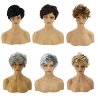 Fashion Womens Short Wavy Curly Hair Wig Full Wigs Cosplay Party Synthetic New