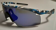 Oakley M Frame Gen 1 SPLATTER - Blue Iridium Strike - VERY NICE