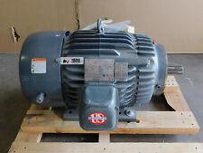 New Us Motors Electric Motor 15 Hp 254tc Frame 1775 Rpm Te 208 230460