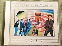 TIME LIFE MUSIC SOUNDS OF THE EIGHTIES 1989 (17 TRACK CD) FREE SHIPPING