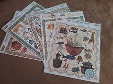 5 SHEETS Debbie Mumm & PSE Vintage Sticker Collection Petshop Country Cabin NIP