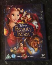 BEAUTY AND THE BEAST  DISNEY DVD BRAND NEW & SEALED  MINT CONDITION FREE POST
