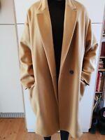 Isabel Marant Mantel/H/W wie Max Mara Tan oversize 38 40 M L Wolle/Cashmere