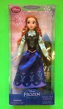 ~NEW~ Disney Frozen ANNA Classic Doll Collection Girls Gift! Sister Queen Elsa
