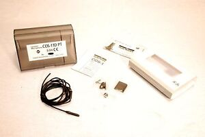 NEW SANKEN COS-11D PRO LAVAIER MICROPHONE 1.5M FOR LECTROSONICS With Accessories