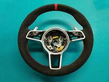 Porsche 911, Macan, Boxster Custom Padded Steering Wheel - NEW Alcantara