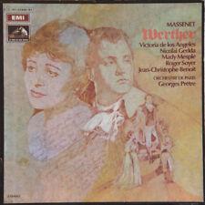 MASSENET Werther Georges Prêtre FR Press EMI C 167-01949/51 1969 Boxset 3 LP