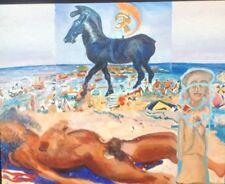 """Malcolm Morley """"Cradle Of Civilization """" Modern Art 35mm Slide"""