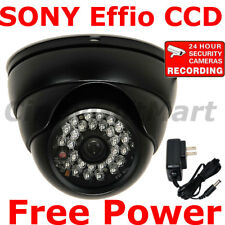 700TVL Outdoor Security Camera w/ SONY Effio CCD IR LED Wide Angle Len Night 1pa