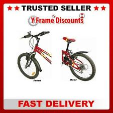 """Zefal Kid 16 - 20"""" Wheel Childrens Bike Cycle Front and Rear Mudguard Set"""