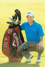 Danny Willett Masters Champion Signed 8x12 Golf Photograph AFTAL/UACC RD