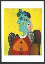 Picasso : Femme au .... - cartolina realizzata nel 2012 - formato cm 11,5 x 16,2