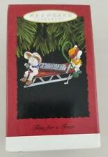 1996 HALLMARK Keepsake Ornament ~ TIME FOR A TREAT ~ HERSHEY Chocolate Bar NIB