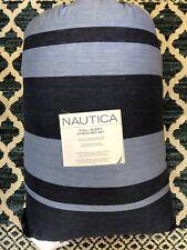 Blue Stripes, Nautical Full / Queen Comforter Set (3 Piece)