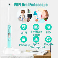 Oral Dental WiFi HD Intraoral Endoscope Wireless Dental Camera 8 LEDs IP67