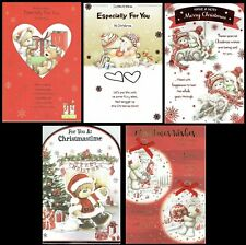 CUTE CHRISTMAS CARD ~ Quality Cards ~ with Nice Verses  - Choice Of Design